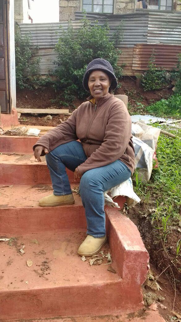 Miss Maina trots op de oplevering