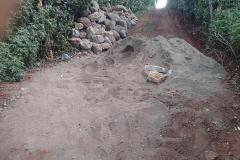 Stenen en zand